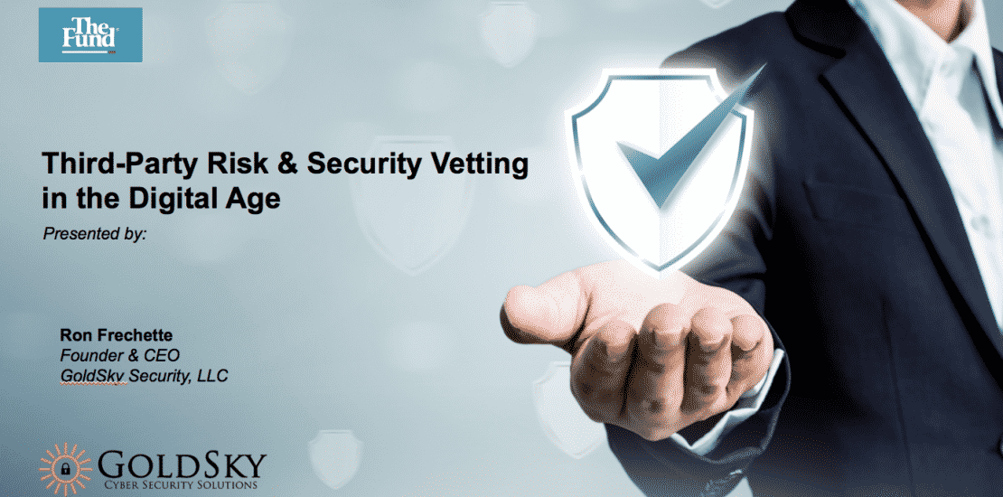 Third-Party Security Vetting